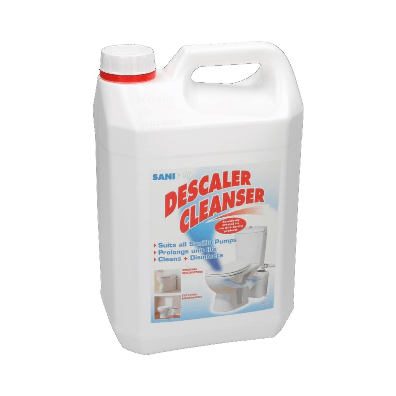 Saniflo descaler masked picture