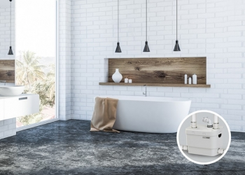 Winter is coming… Warm up, install a bathtub!
